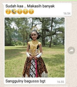 Toko Sanggul dan Ronce Melati Pengantin Kain area Bengkulu Tengah  WA 081326350313