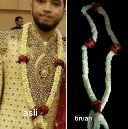 Melati kalung pengantin